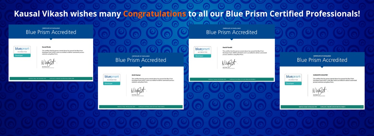 RPA Blue Prism Certification – Learning Guide