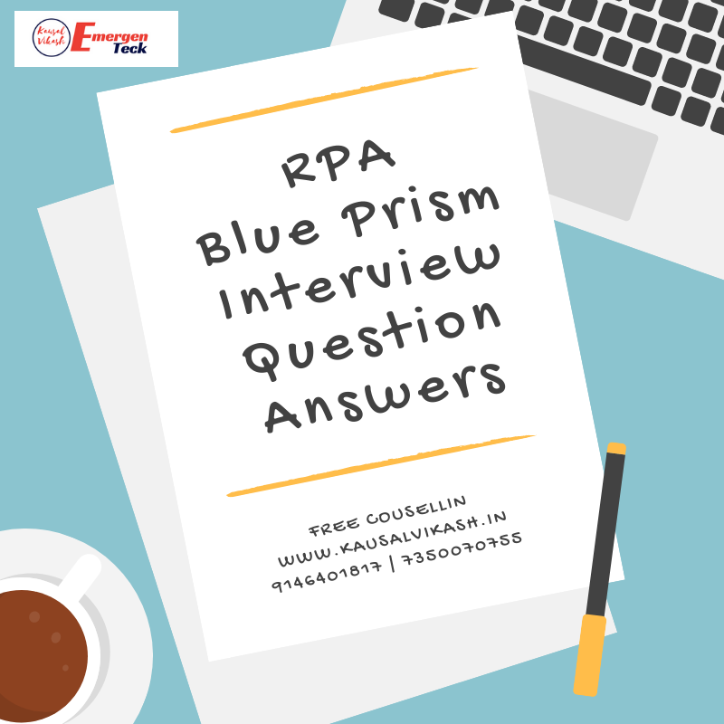 Top Blue Prism Interview Questions And Answers | RPA Blue